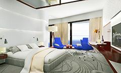 Radiisson Blu Resort (Zeichnung) Zimmer