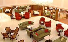 Atrium im Château Monty Spa Resort