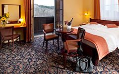 Zimmer im Château Monty Spa Resort
