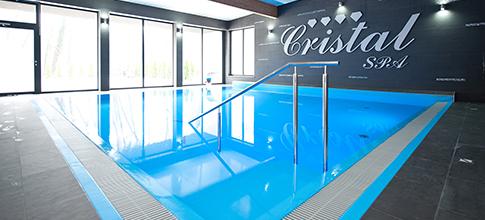 Schwimmbad des Hotels Vristal Spa in Kolberger Deep