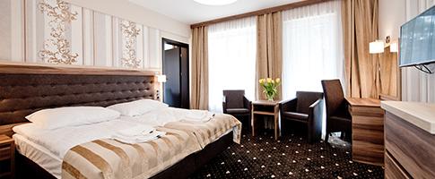 Wohnbeispiel im Hotel Cristal Spa Kolbeger Deep