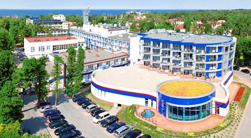 Hotel Unitral in Mielno nahe der Ostsee