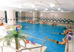 Wassergymnastik im Radium Palace