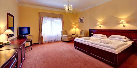Wohnbeispiel der Superior-Kategorie im Hotel Radium Palace
