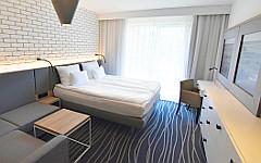 Zimmer-Beispiel im Kolberger Hotel ProVita