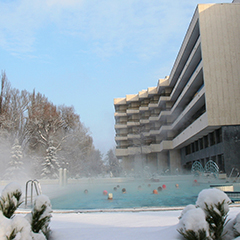 Danubius Health Spa Esplanade im Winter