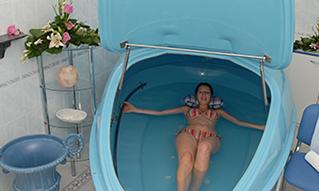 Floatingwanne im Marienbader Hotel Esplanade