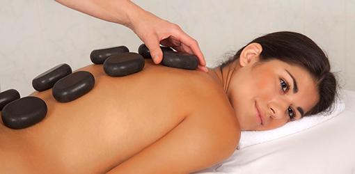 Hot-stone-Massage im Franzensbader Kurhotel Metropol
