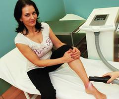 Lokale Kryotherapie im Spa-Hotel Felicitas des böhmischen Kurortes Podebrady