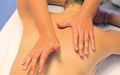 Massage mit den Handballen