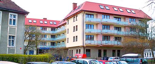Gesamtansicht  des Kolberger Kurhotels Olymp 2