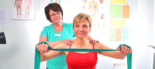Physiotherapie-Bild vom Gesundheitszentrum Helenenquelle Bad Wildungen (Klick zur Helenenquelle)