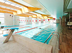 Sportschwimmbecken Im Komplex Sandra Spa