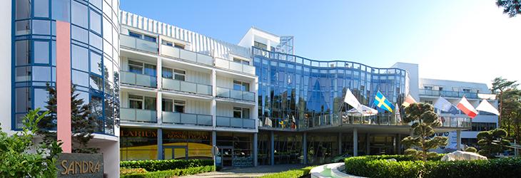 Haus Sandra Spa des Sandra-Ferienkomplexes von Pogorzelica
