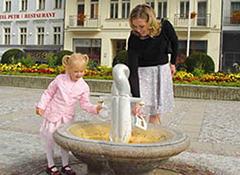 Trinkkur in Karlovy Vary