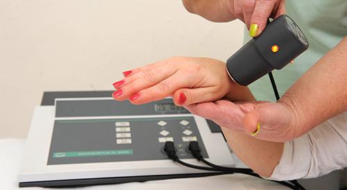 Ultraschall-Anwendung in Karlsbad
