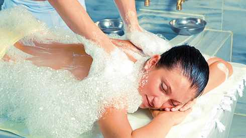 Massage im Hamam