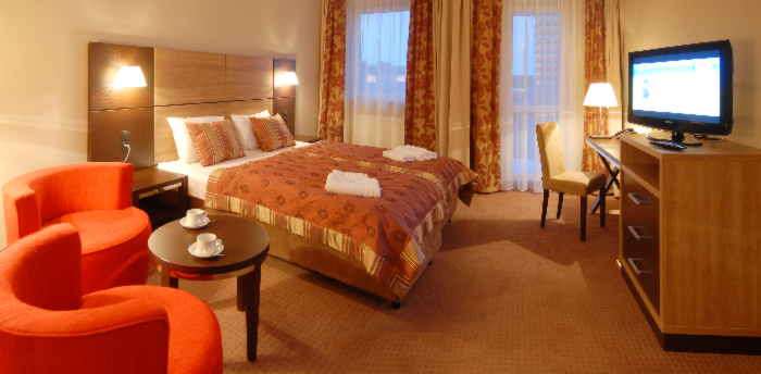 Wohnbeispiel des Kolberger Hotels Diva Spa