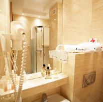 Blick in das Interieur eines Bads (Beispiel)