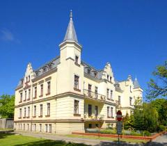 Das Kolberger Sanatorium Mewa 1 am Tage