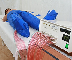 Apparative Kompressionstherapie (apparative Lymphdrainage) im Franzensbader Kurhotel Goethe