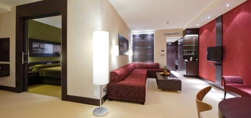 Appartment-Beispiel im Hotel Aquarius Spa