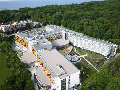 Hotel Aquarius Spa im neuen Kurviertel von Kolberg
