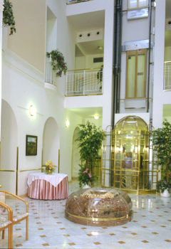 Atrium im Spa-Hotel Hvezda