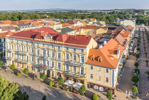 Kurhotel Savoy nahe der Franzensbader Promenade