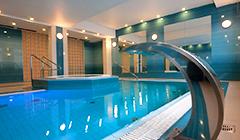 Schwimmbad im Hotel Kaisers Garten