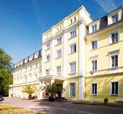 Hotel Prusík Konstantinsbad in Westböhmen