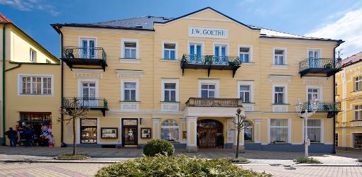 Kurhotel Goethe im tschechischen Kurort Franzensbad