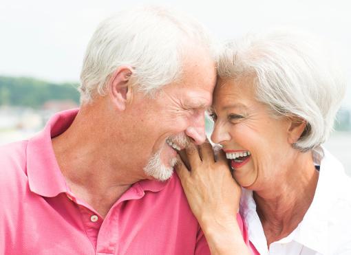 Seniorenpaar 66plus