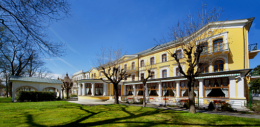 Kurhotel Belvedere in Franzensbad
