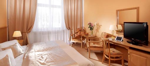 Wohnbeispiel im Franzensbader Hotel Savoy