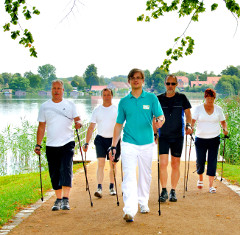 Nordic Walking am Feldberger Haussee
