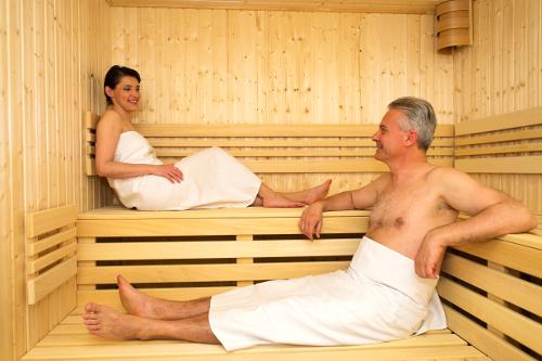 Saunabild der Kurverwaltung von Piešťany