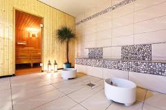 Interieur im Wellnessbereich des Hotels Aquamarina