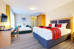 Wohnbeispiel des Hotels Aquamarin Kühlungsborn