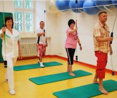 Reha-Übungen im Volareza-Kurhaus Judita