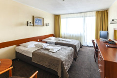 Doppelzimmer-Wohnbeispiel im Hotel Arka