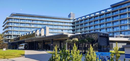 Hotel Hamilton von außen