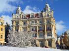 Das Marienbader Hotel Hvezda im Winter