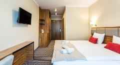 Wohnbeispiel Doppelzimmer im Hotel KORAL Live