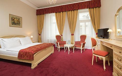 Wohnbeispiel im Marienbader Spa-Hotel Palace Zvon