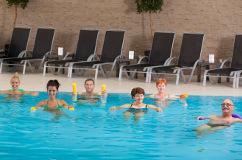 Wassergymnastik im Hotel Park