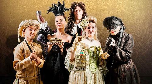 Papiliotheater-Gruppe Adel vergiftet