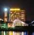Nachtbild Hotel Neptun Warnemuende