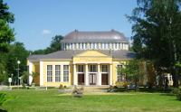 Glauberquellen-Halle in Franzensbad