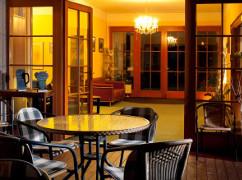 Lobbybereich des Hotels Hubert
